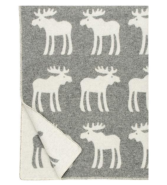 Hirvi grå-vit